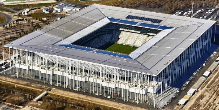 football, bordeaux, stade de football, stade, récupération eau de pluie, eau de pluie