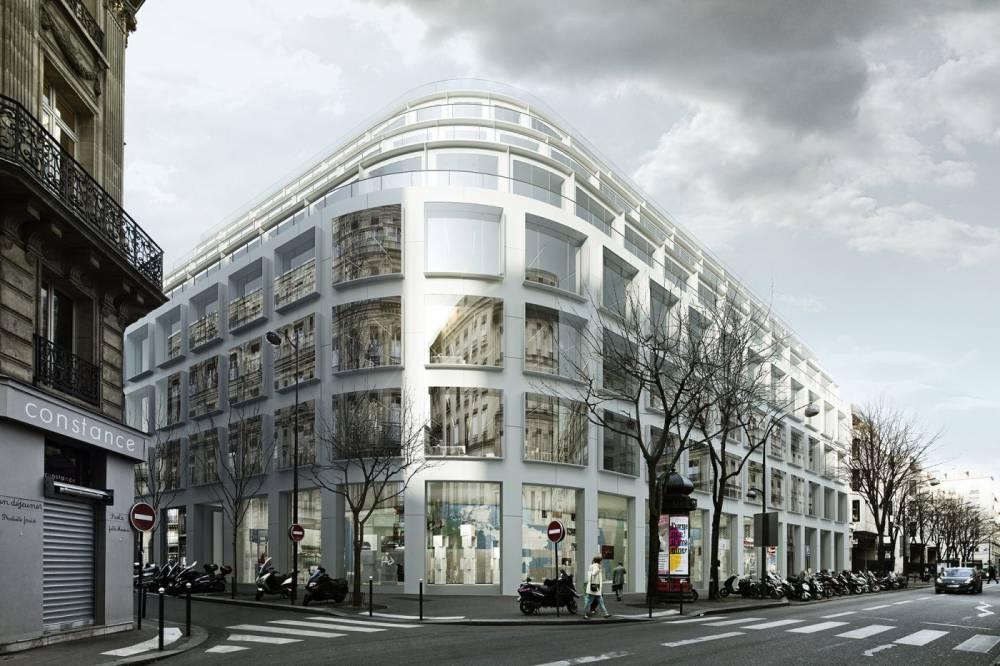 paris, bureaux, cardinal, cloud, eau de pluie, récupération eau de pluie